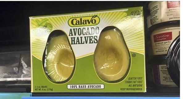 emballage plastique alimentaire : avocats