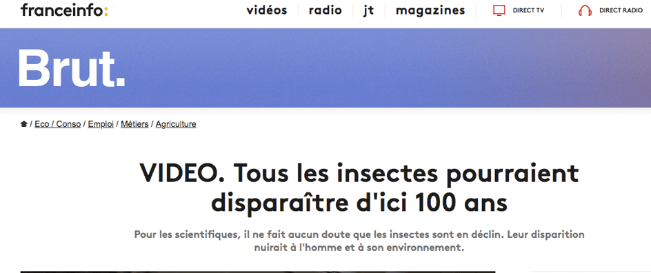 pétition génocide insectes