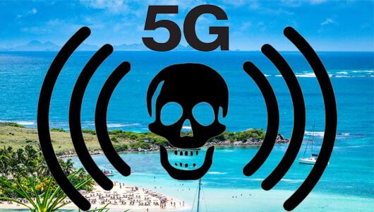 Non à la 5G sur notre île de Saint Martin