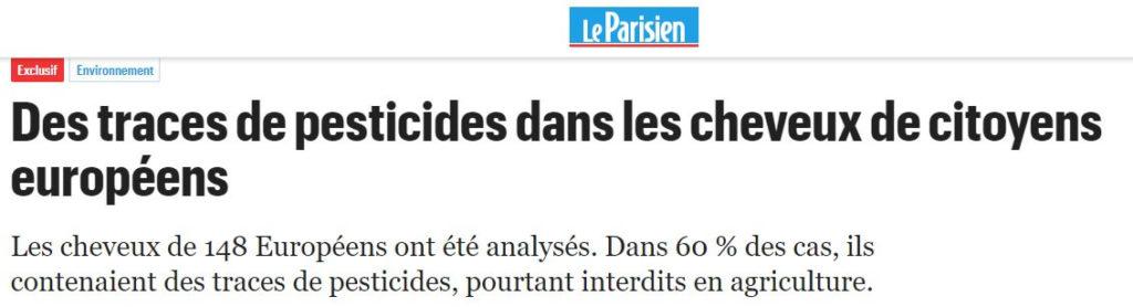 parisien : perticides cheveux