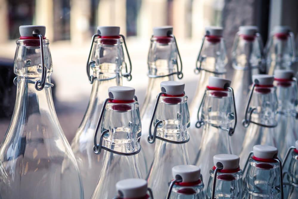 Bouteilles en verre : POUR le retour de la consigne