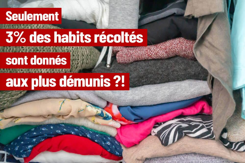 STOP aux collectes sauvages d'habits !