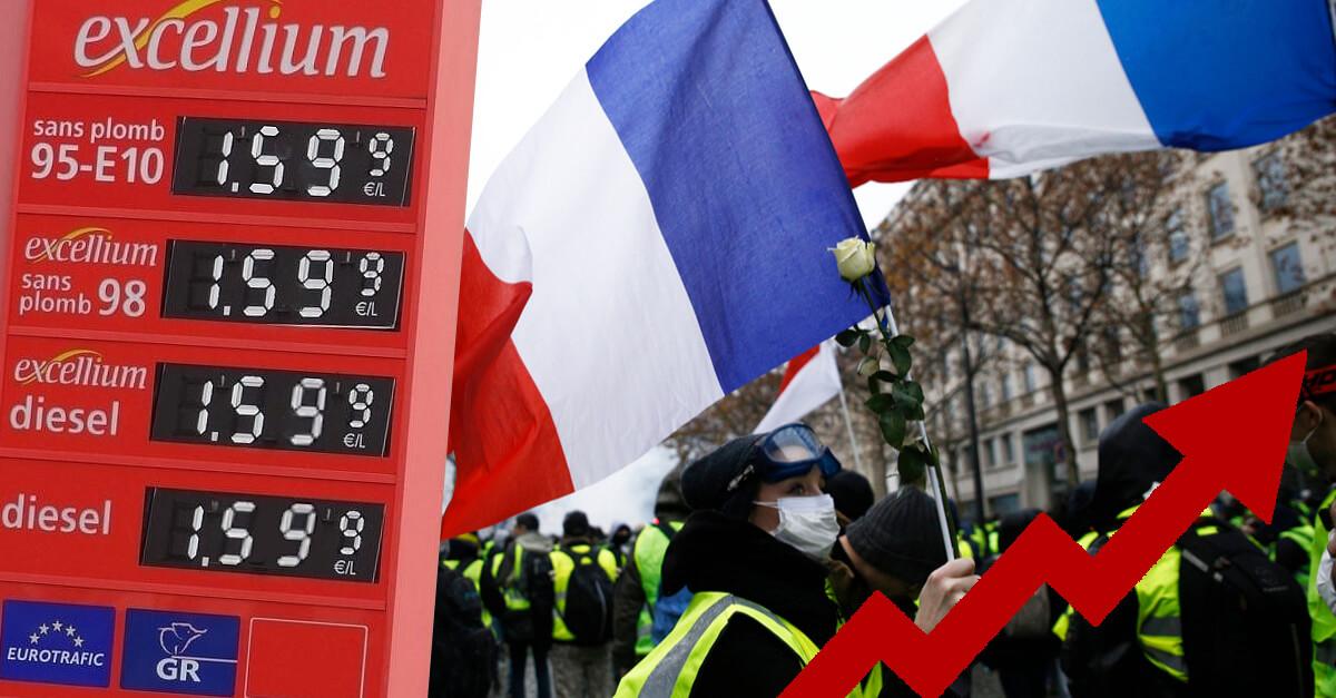 Stop à la surtaxation de l'essence et de l'énergie !
