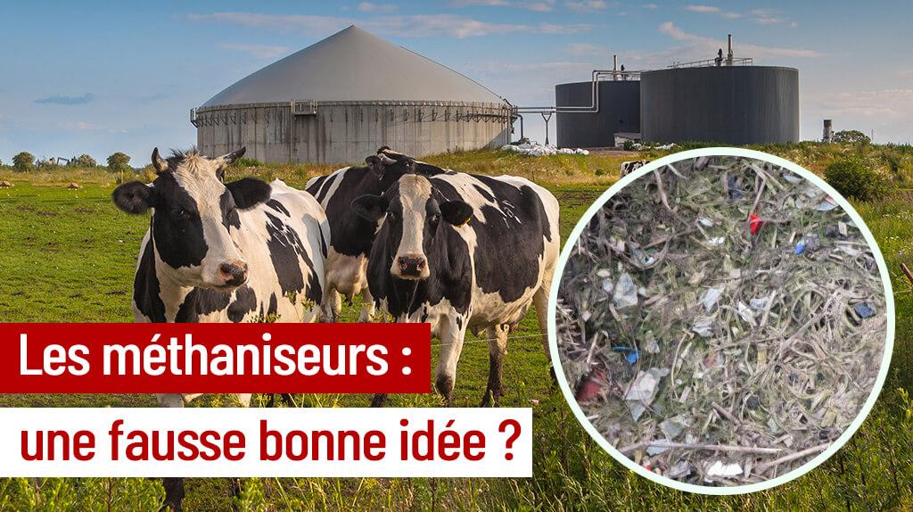 STOP - Les méthaniseurs ça pue et ça pollue!