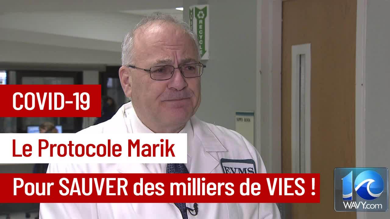 Covid-19 : Sauvons des vies avec le Protocole Marik!