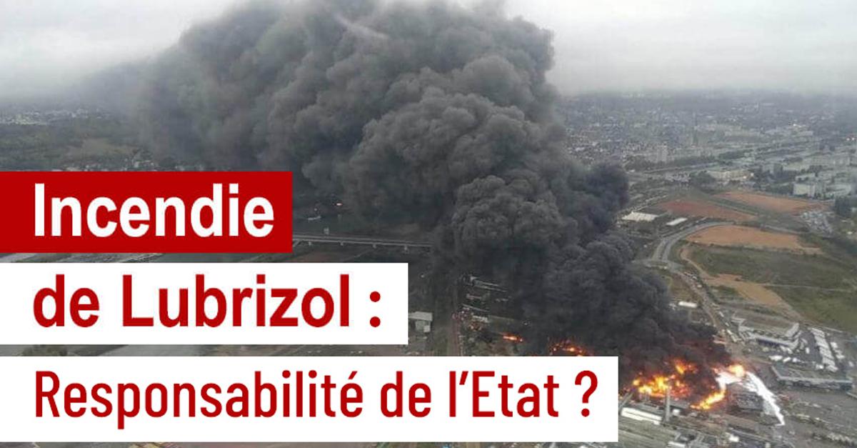 Incendie de Lubrizol : stop à l'enfumage
