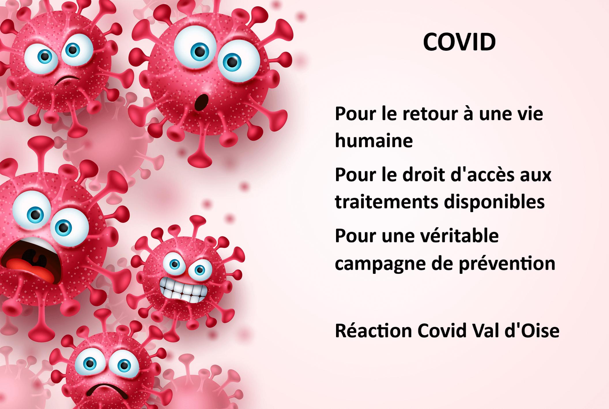COVID: pour un retour à la vie